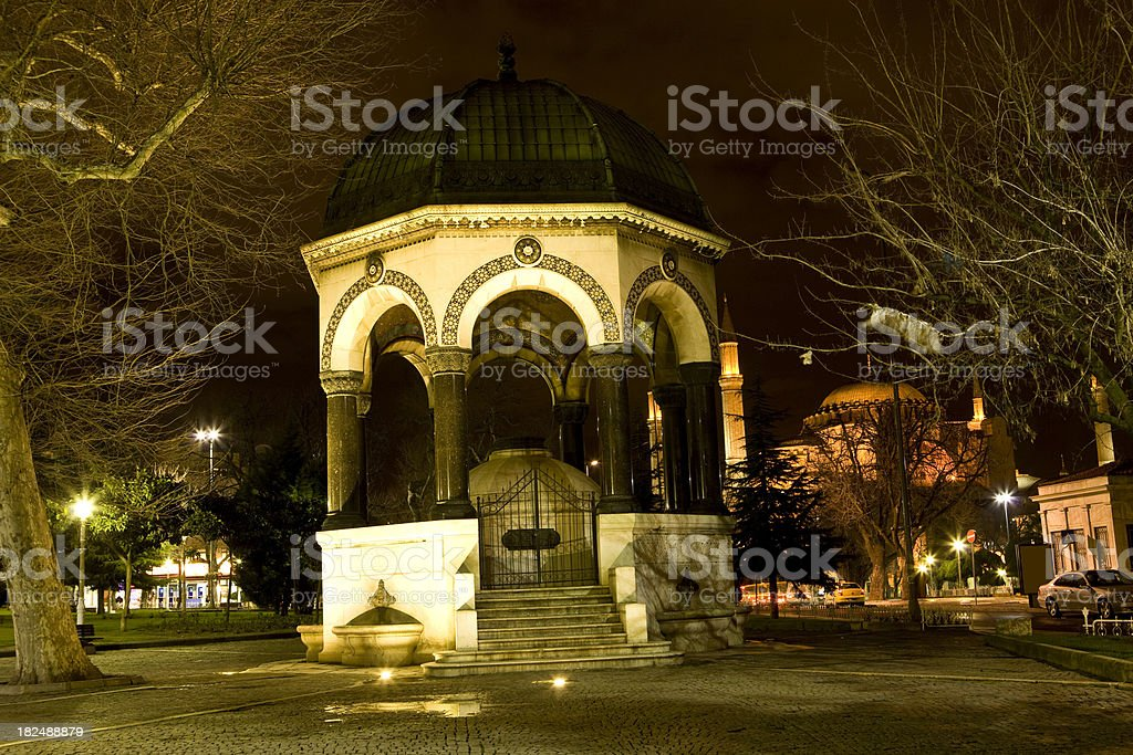 german fountain royalty-free stock photo
