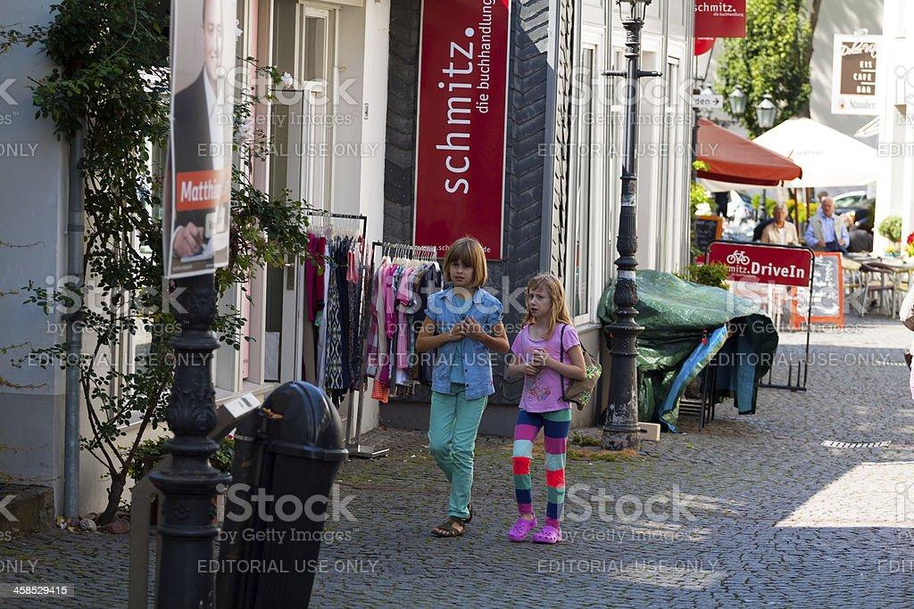 German girls stock photo