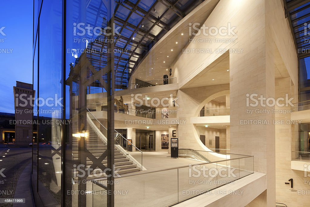 German Historical Museum Berlin, Germany stock photo