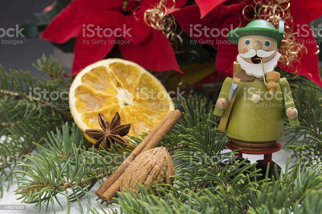 German incense smoker stock photo