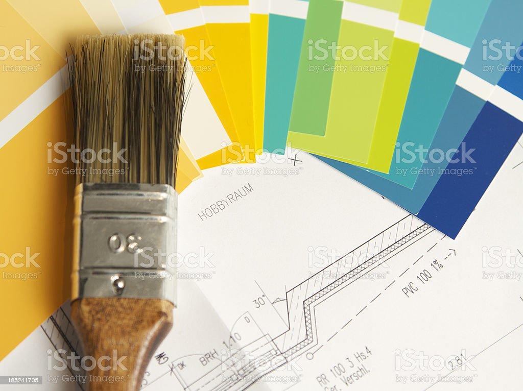 German Interior Design Concept royalty-free stock photo