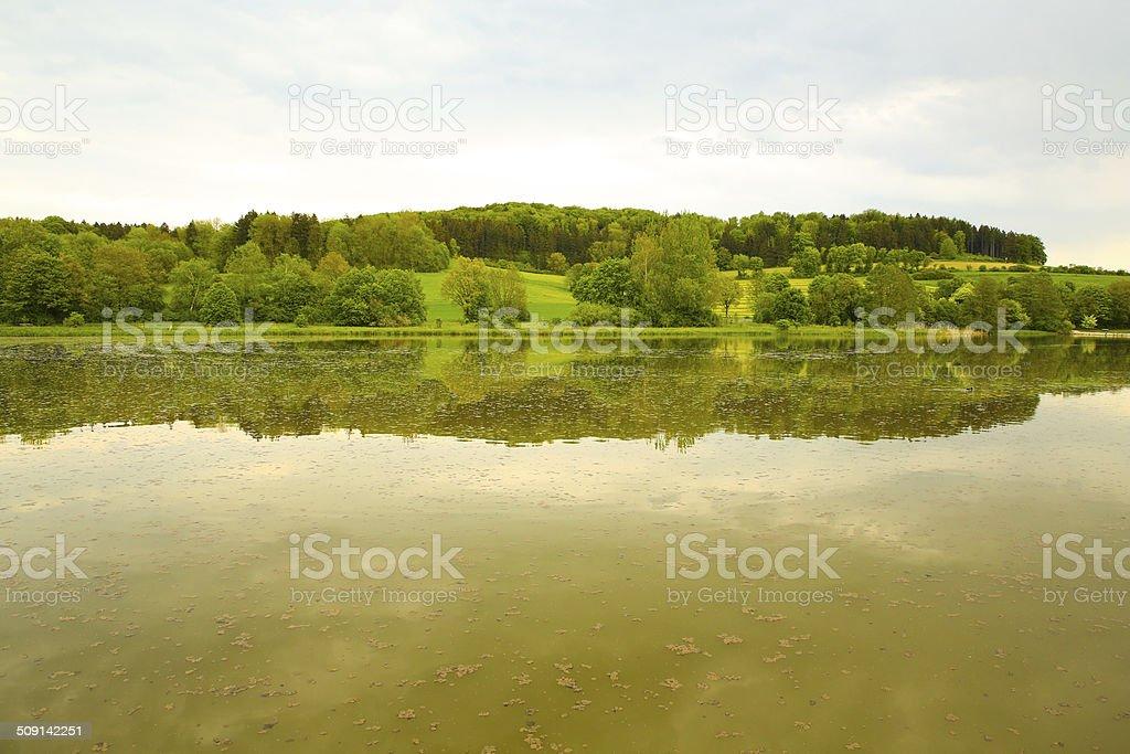 German Lake stock photo