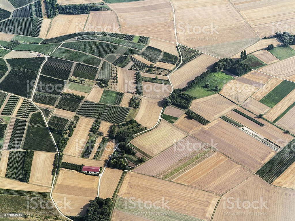 German Landscape royalty-free stock photo