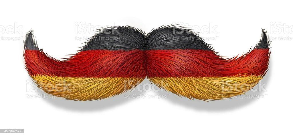 German Man Symbol stock photo