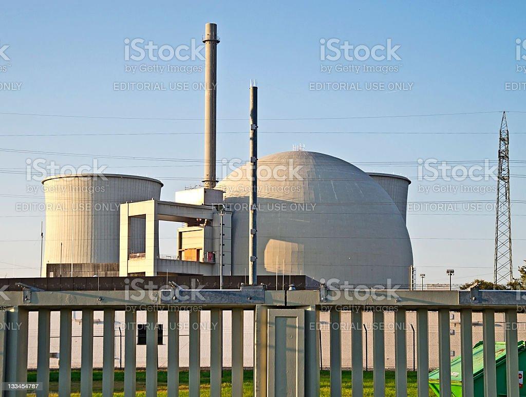 ドイツ原子力発電所 ロイヤリティフリーストックフォト