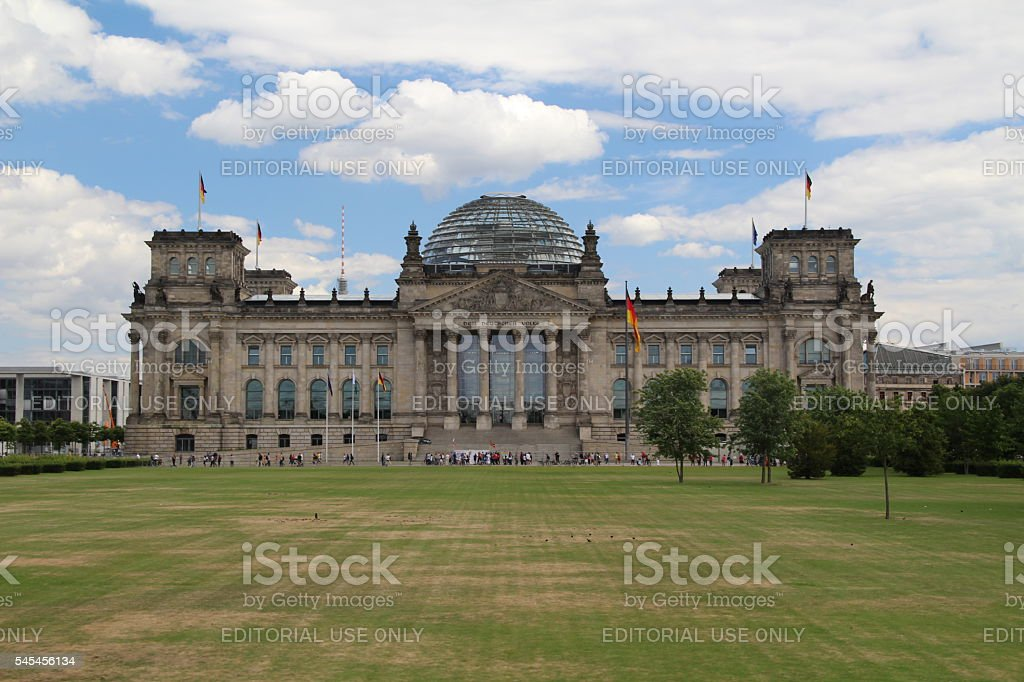 German Parliament royalty-free stock photo