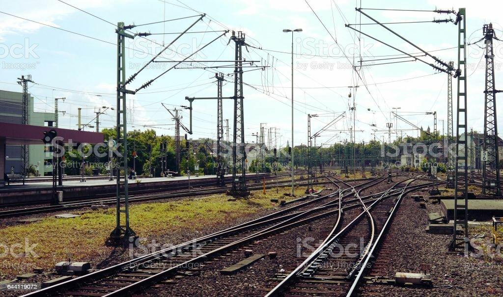 German railroad stock photo