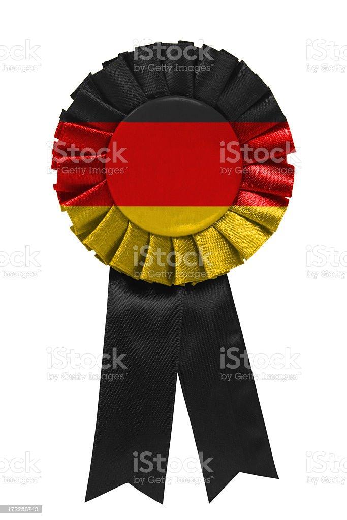 German ribbon royalty-free stock photo
