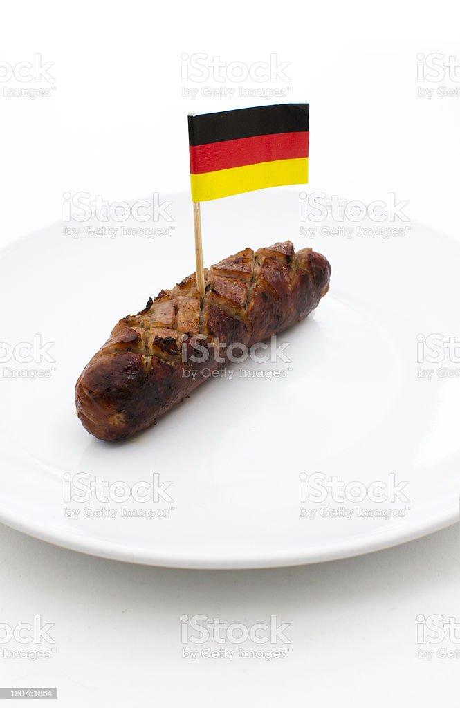 German Sausage stock photo
