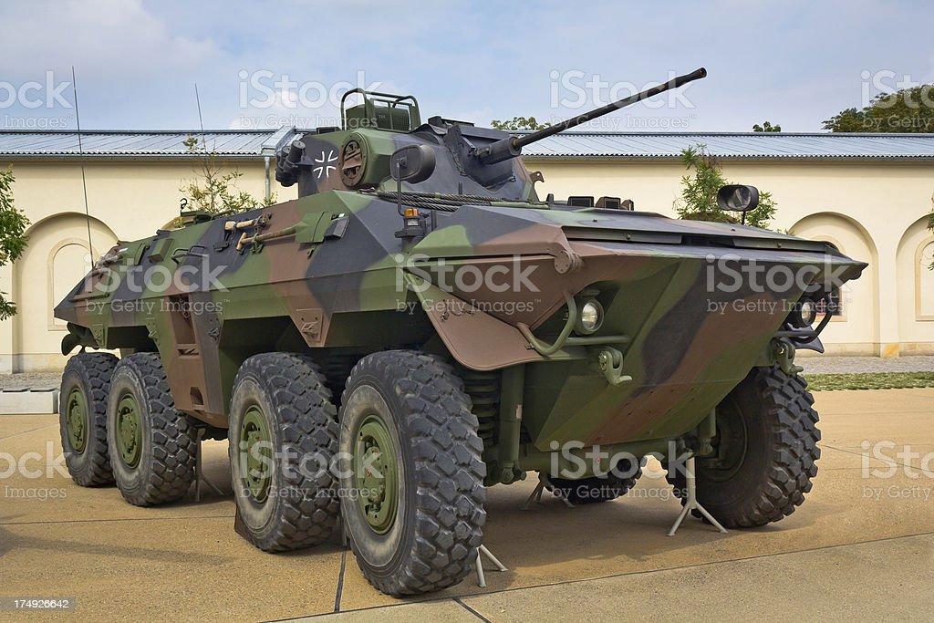 German scout car royalty-free stock photo