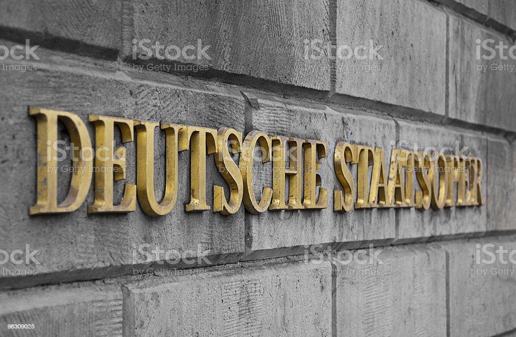 Ópera Estatal de Berlim Alemanha foto de stock royalty-free