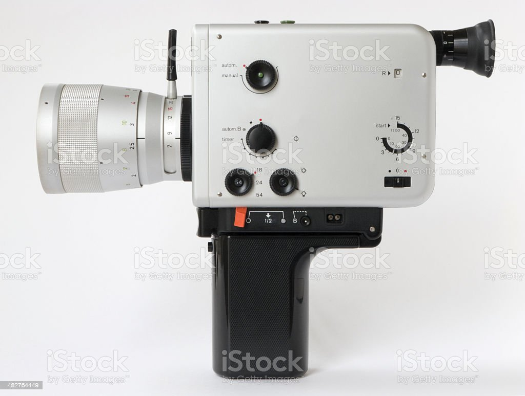 German super 8 camera royalty-free stock photo