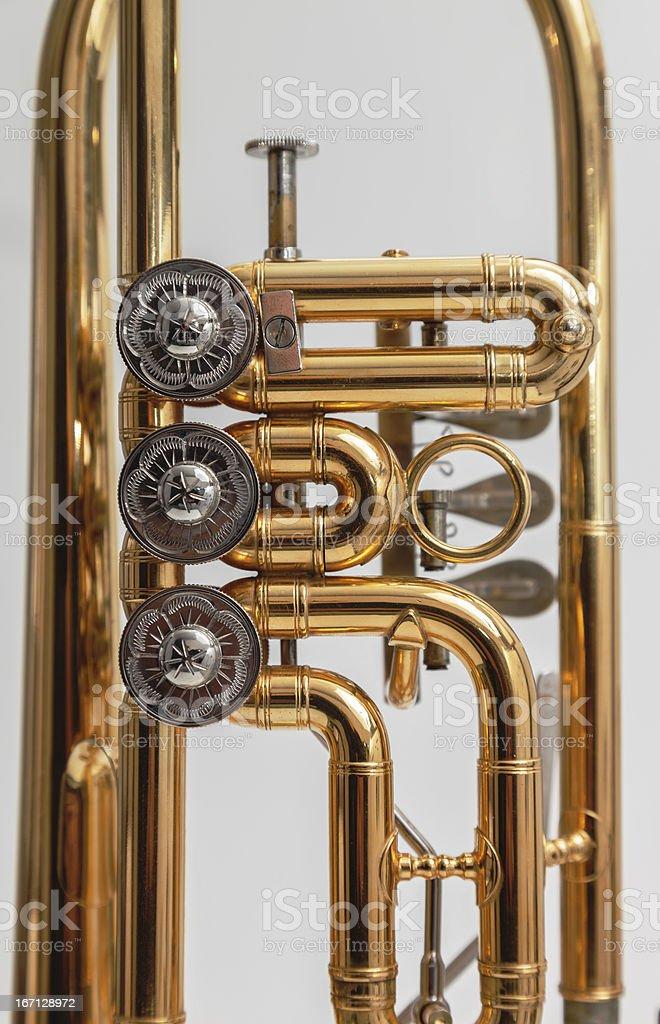 German Trumpet royalty-free stock photo