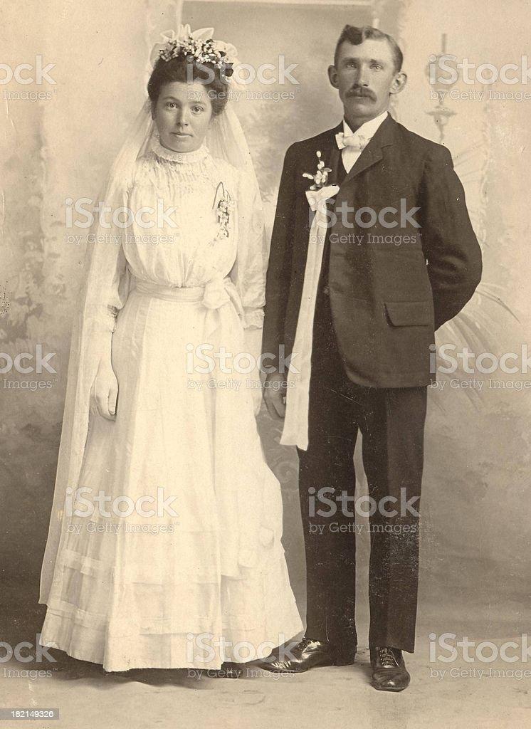 German Wedding stock photo