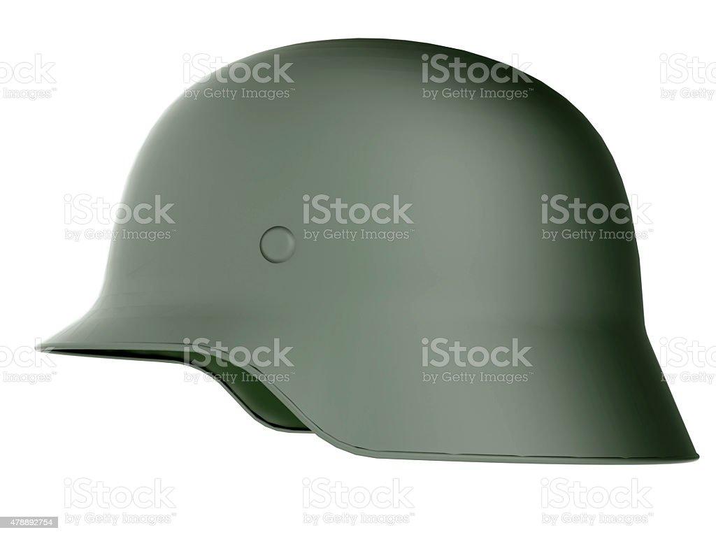 German World War Military Helmet stock photo