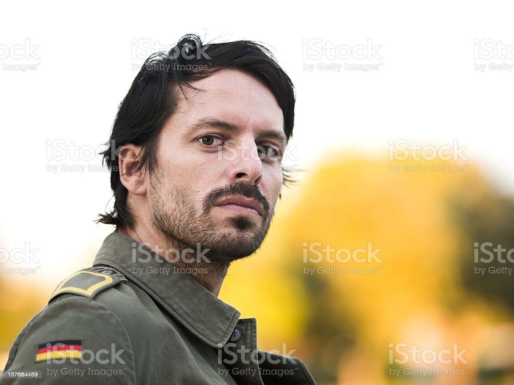 German-Turkish Young Man stock photo