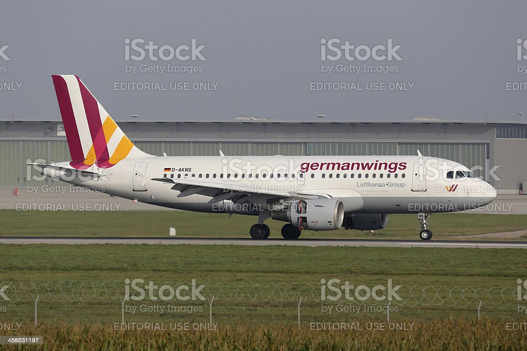 Germanwings Airbus A319 stock photo