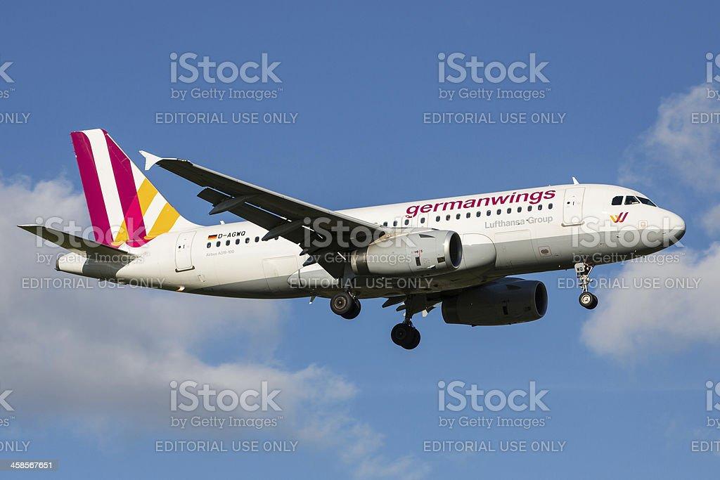 Germanwings Airbus A320 royalty-free stock photo