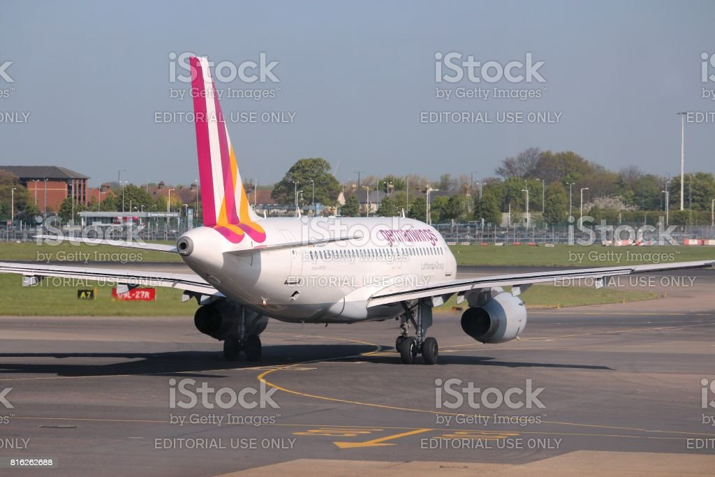 Germanwings Airbus stock photo