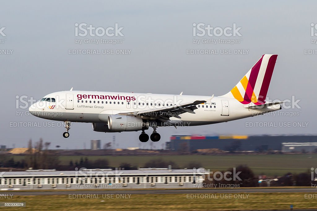 Germanwings stock photo