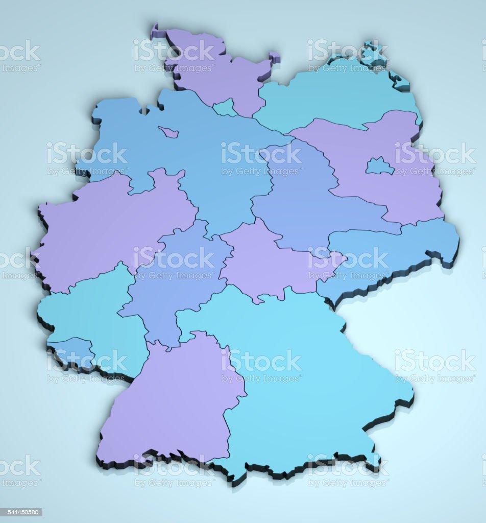 Germany 3D stock photo
