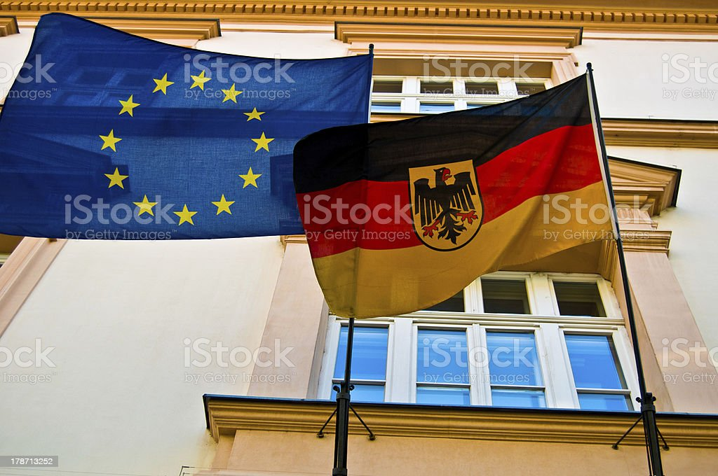 Germany and the EU royalty-free stock photo