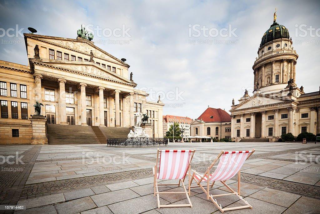 Germany, Berlin, Gendarmenmarkt royalty-free stock photo
