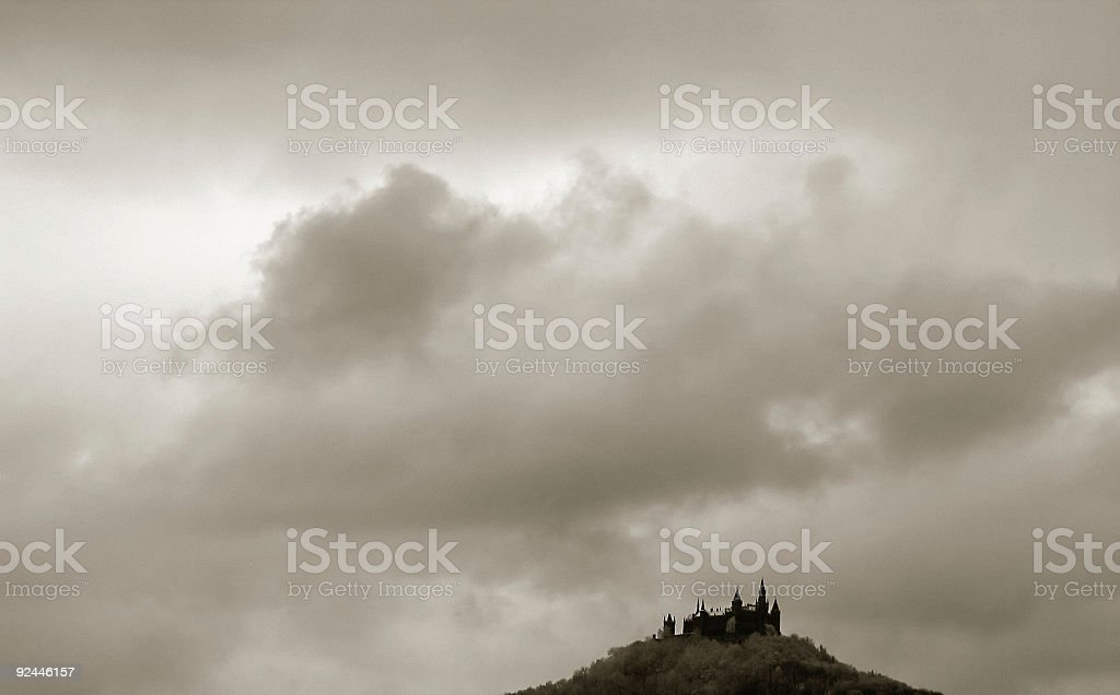 Germany Castle Hohenzollern BW royalty-free stock photo