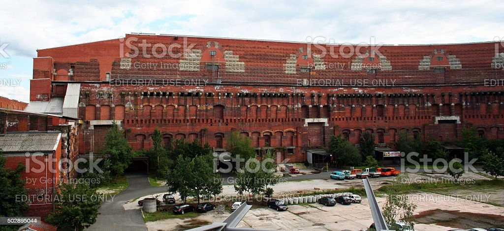 Germany: Congress Hall in Nuremberg stock photo