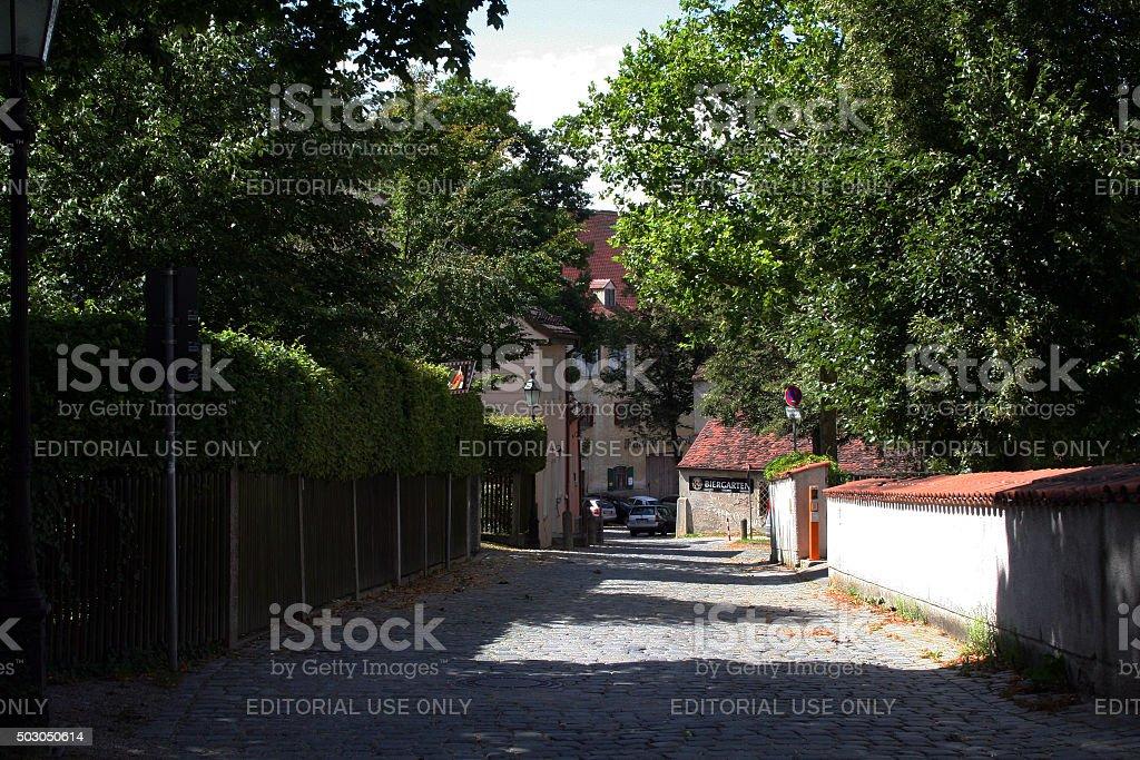 Germany: Dachau Palace stock photo