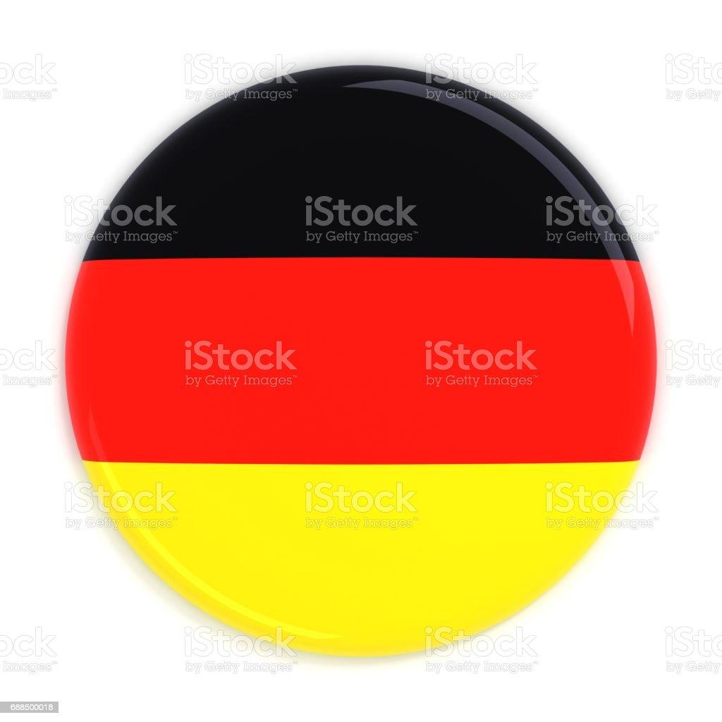 Germany flag badge stock photo