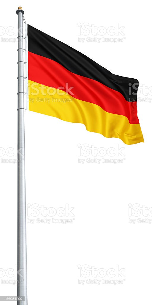 Germany flag stock photo