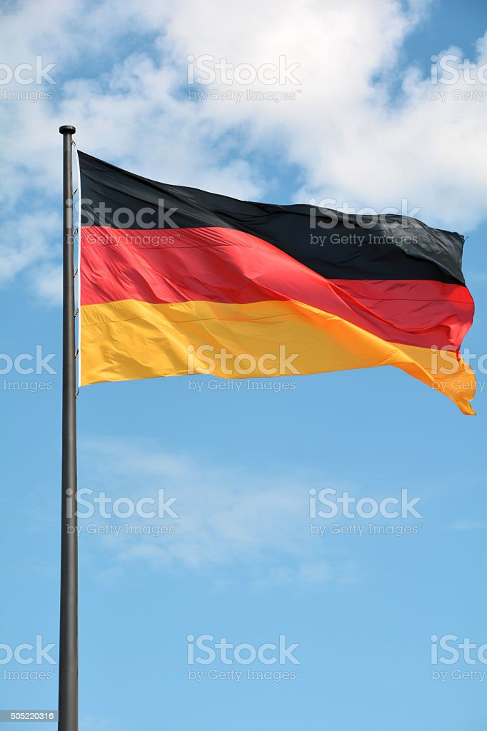 Deutschland-Fahne stock photo