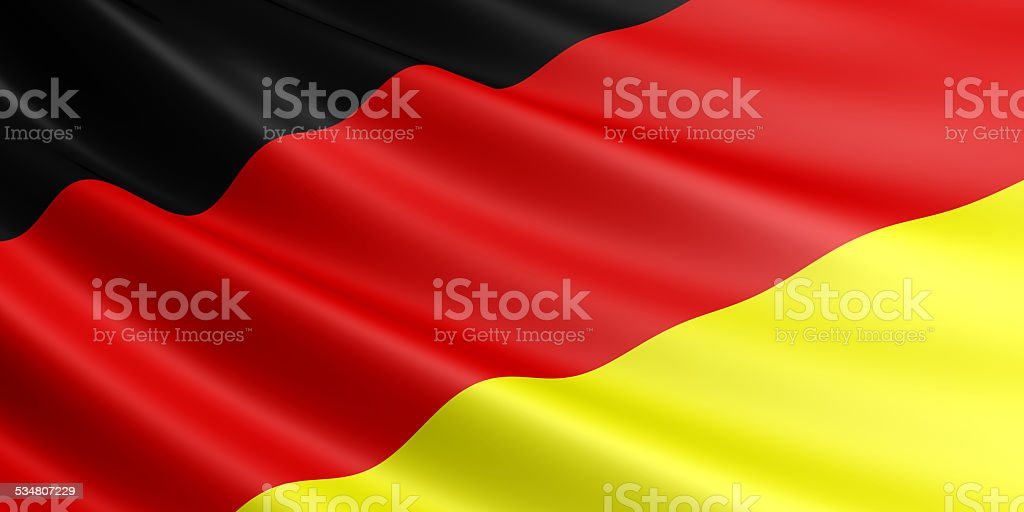 Germany flag. royalty-free stock vector art