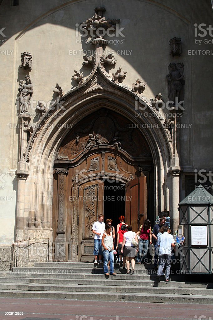 Germany: Frauenkirche in Munich stock photo