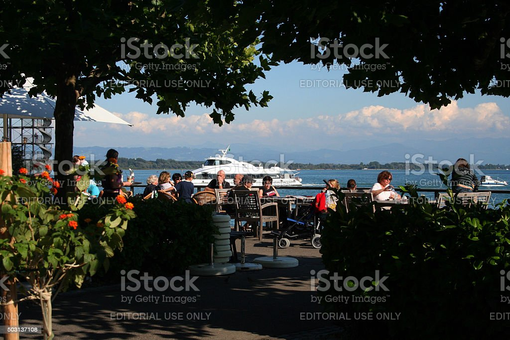 Germany: Friedrichshafen stock photo
