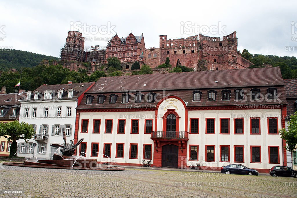 Germany: Heidelberg Castle stock photo