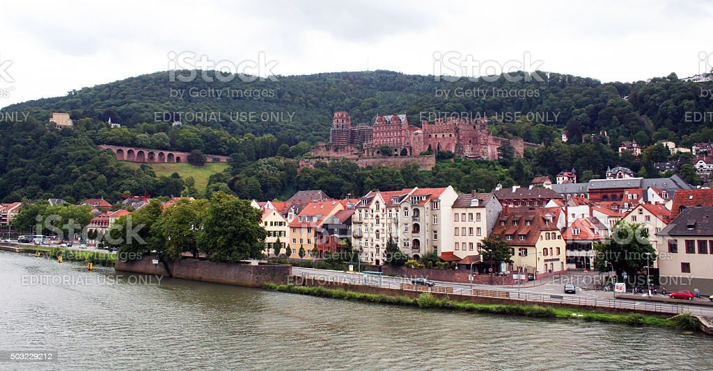 Germany: Heidelberg stock photo
