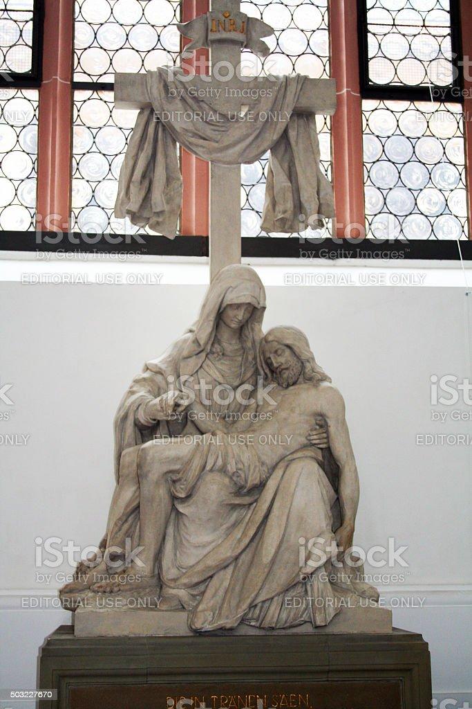 Germany: Jesuit Church (Jesuitenkirche) in Heidelberg stock photo