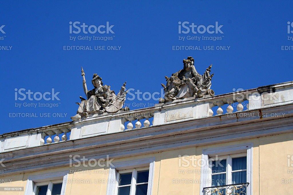 Germany: Karlsruhe stock photo