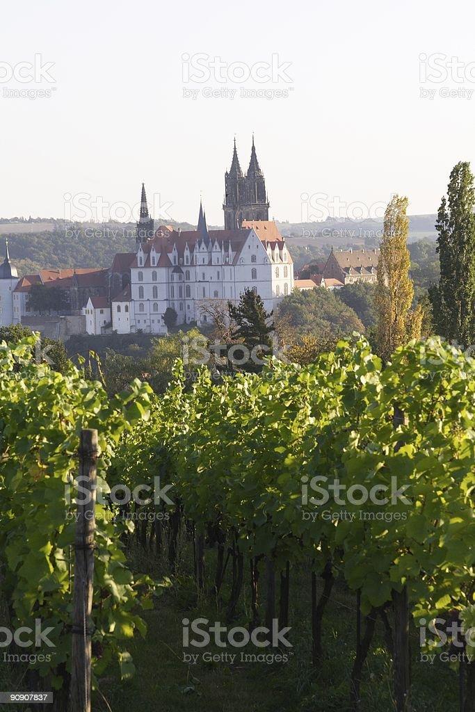 Germany Meissen Albrechtsburg stock photo