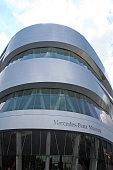 Germany: Mercedes Benz Museum in Stuttgart