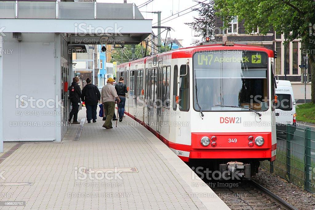 Germany public transport stock photo