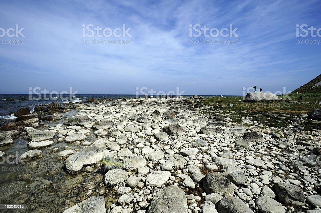 Germany Rügen Pure Baltic Sea Coast Summer royalty-free stock photo