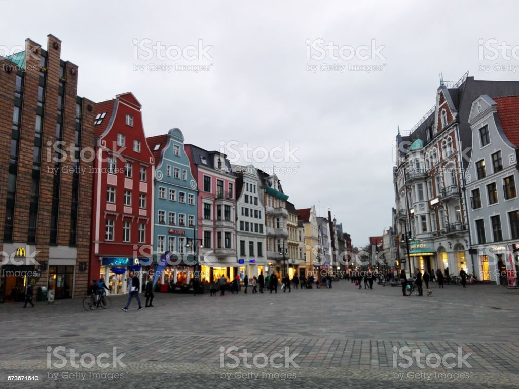Germany, Rostock stock photo