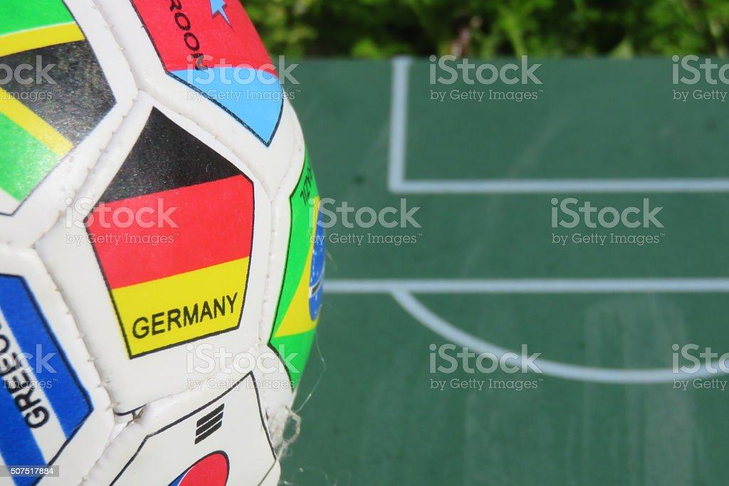 Germany Soccer stock photo