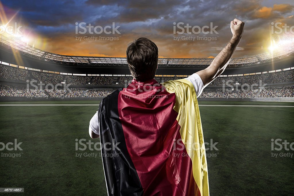 Germany soccer player royalty-free stock photo