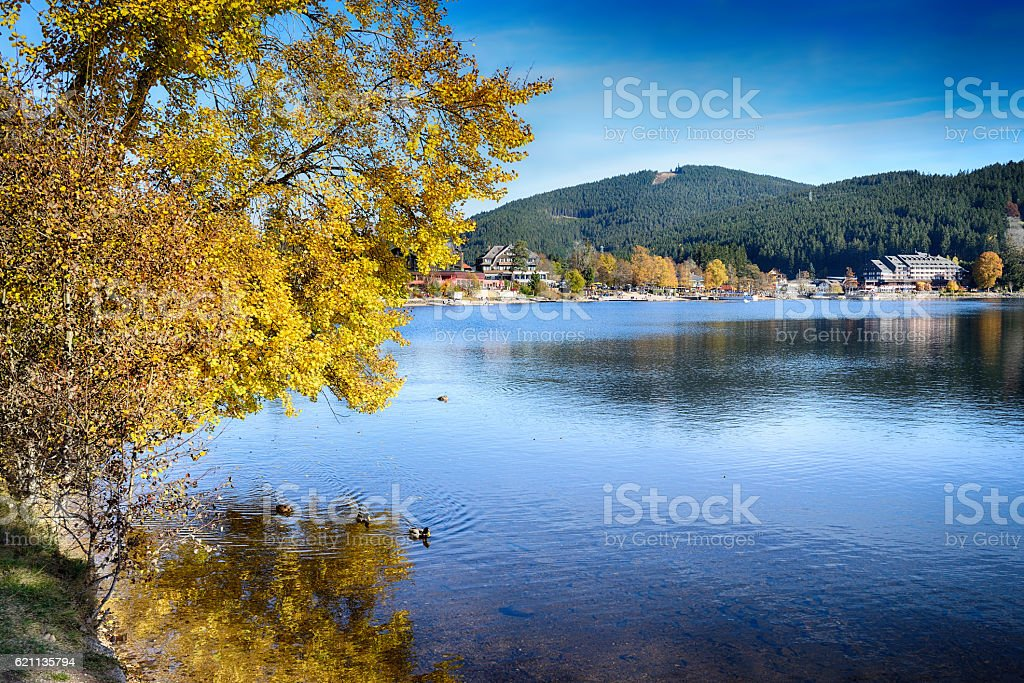 Germany Titisee - Black Forest stock photo