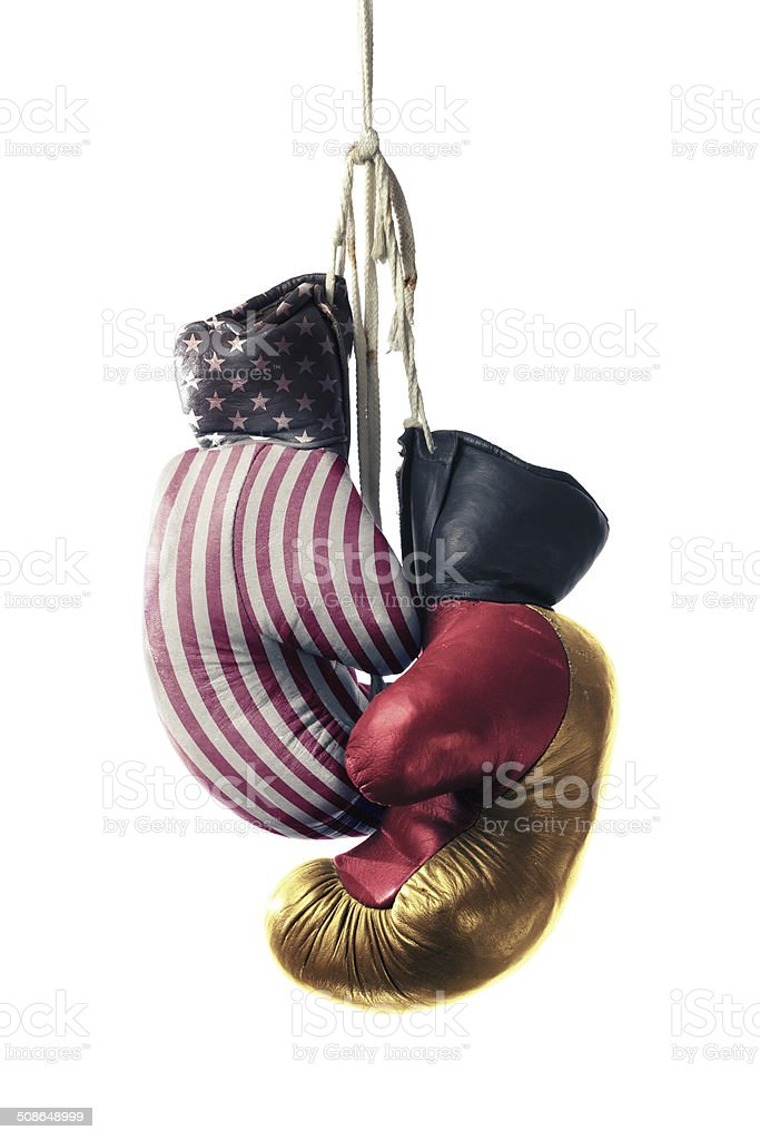 Germany & USA and the NSA spying scandal stock photo