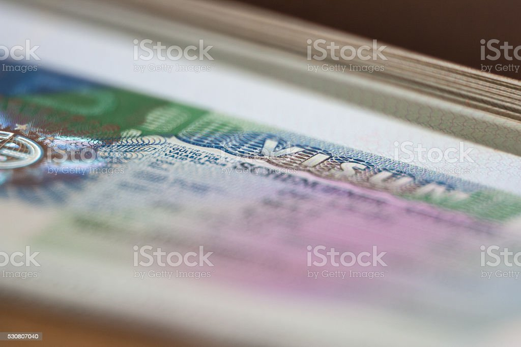 Germany Visa stock photo